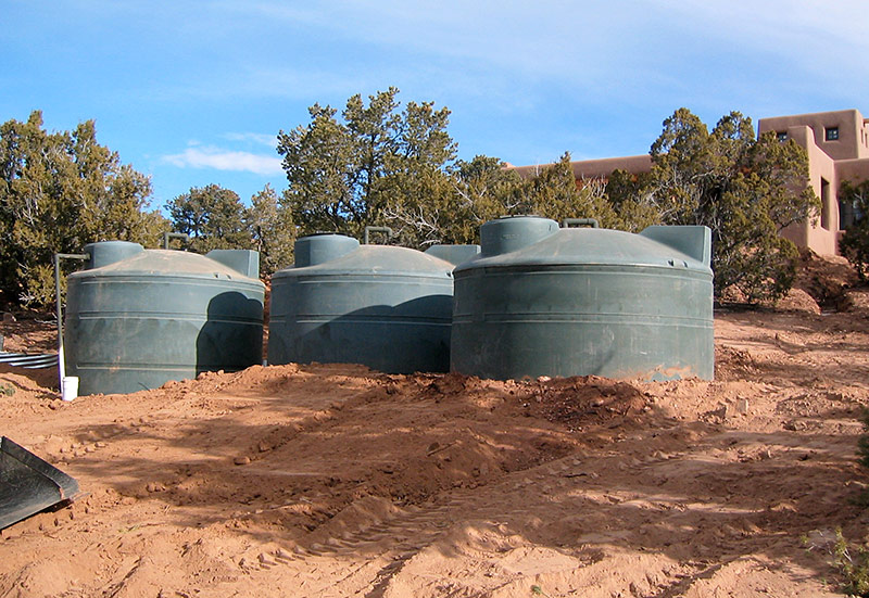 Cisterns for Rainwater Storage | The RainCatcher Santa Fe, NM