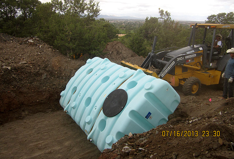 Cisterns For Rainwater Storage The Raincatcher Santa Fe Nm