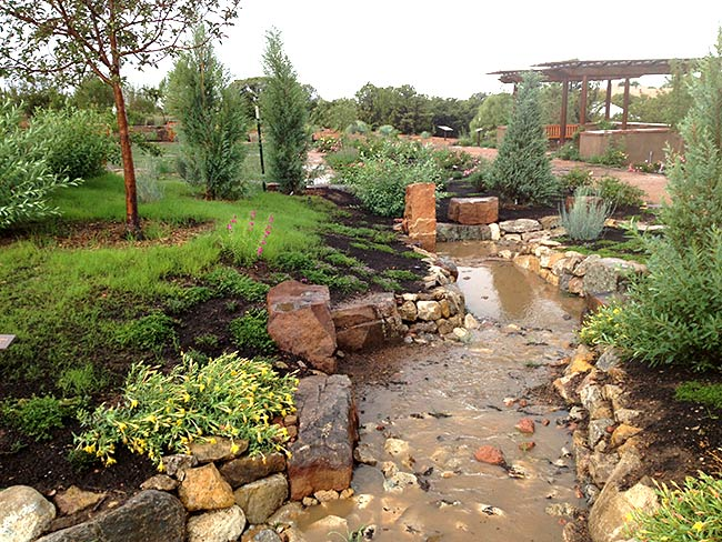 Landscaping Xeriscaping The Raincatcher Santa Fe Nm