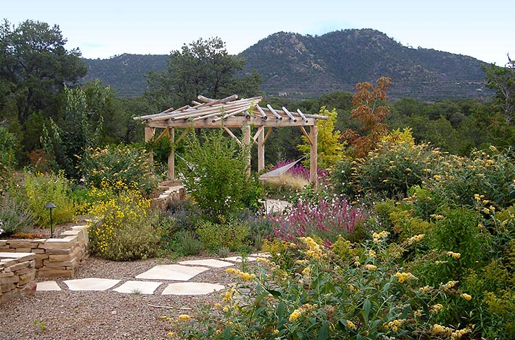 Working with nature, we can create inviting, low-water use landscapes and outdoor spaces that enhance the ecosystem and your property.