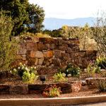 Waterwise median landscape design for Las Campanas by The RainCatcher, Santa Fe