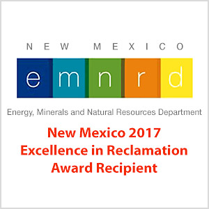 2017 Excellence in Reclamation Award, New Mexico